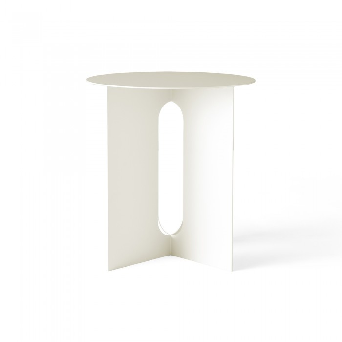 Table d'appoint ANDROGYNE - Blanc