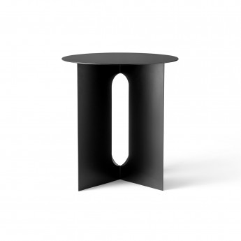 Table d'appoint ANDROGYNE - Noir
