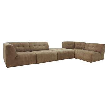 VINT modular sofa brown - 01