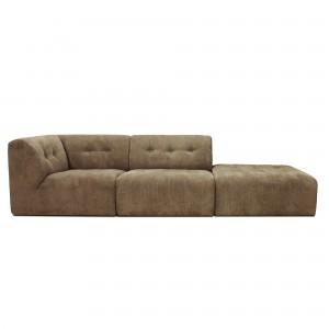 VINT modular sofa brown - 03