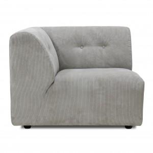 Module canapé VINT gris clair - A