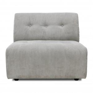 Module canapé VINT gris clair - B