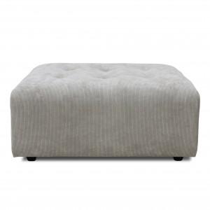 Module canapé VINT gris clair - Ottoman