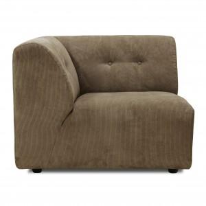 Module canapé VINT marron - A
