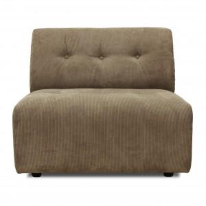 Module canapé VINT marron - B