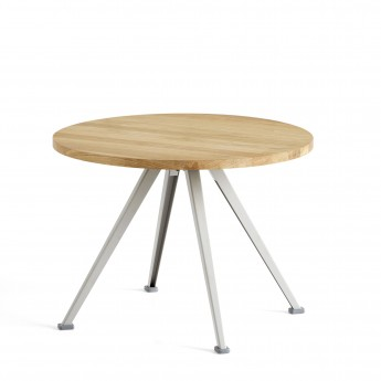 Table PYRAMID coffee beige
