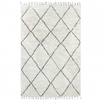 BERBER carpet - Black/white 1
