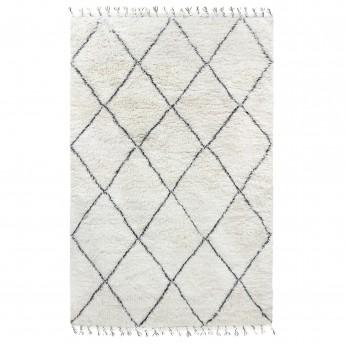 BERBER carpet - Black/white 1
