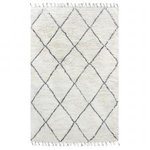 BERBER carpet - Black/white 2