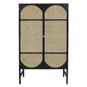 RETRO WEBBING cabinet - Black