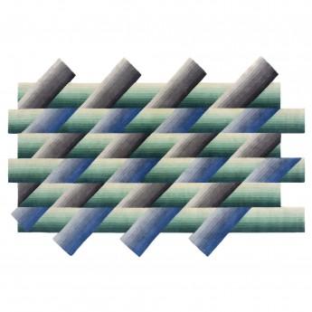MIRAGE rug blue