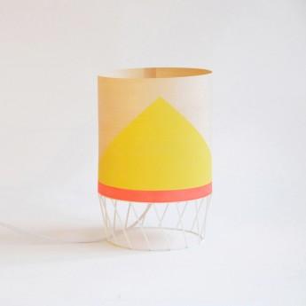 Lampe DOWOOD S jaune