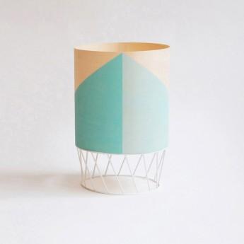 Lampe DOWOOD S vert d'eau
