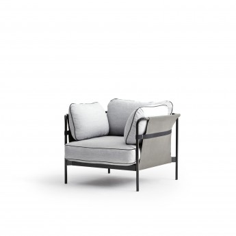 CAN Armchair - 2 Light grey