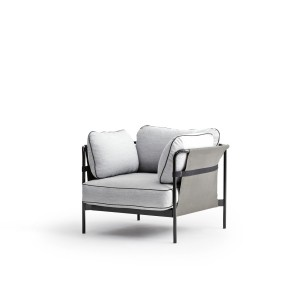 Fauteuil CAN - Gris clair 2