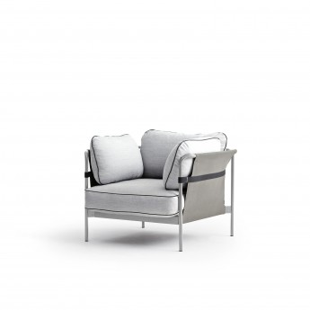 CAN Armchair - 6 Light grey