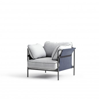 CAN Armchair - 4 Light grey