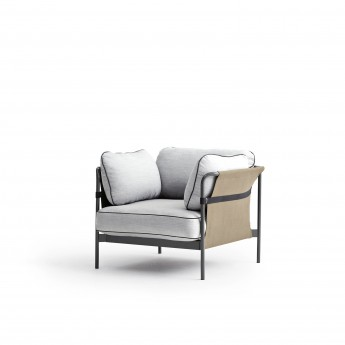 CAN Armchair - 3 Light grey