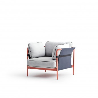CAN Armchair - 7 Light grey