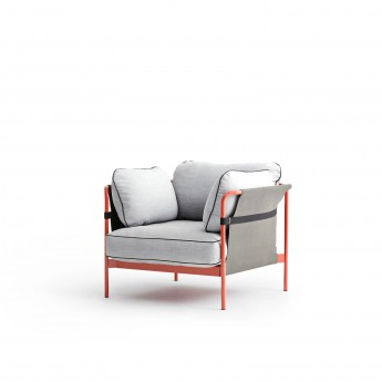 CAN Armchair - 8 Light grey