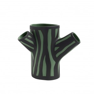TREE TRUNK vase S - Green