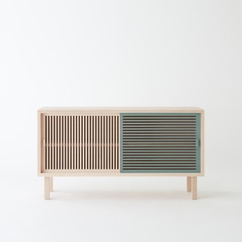 KYOTO grey-green sideboard