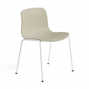 Chaise AAC 16 - Pastel green, pieds blanc
