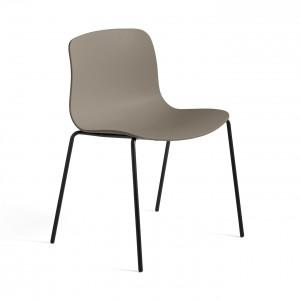 Chaise AAC 16 - Khaki, pieds noir