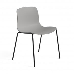 AAC 16 chair - Concrete grey, black leg base
