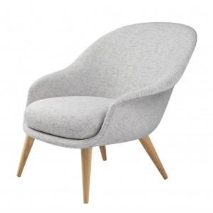BAT lounge chair - Low - Sonar3 & wood