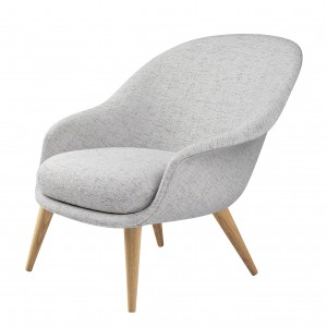 Chaise longue BAT - Low - Sonar3 & bois