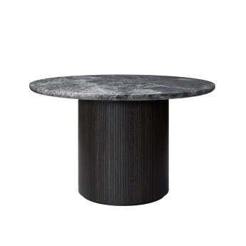 MOON coffee table - Ø150 - Grey marble