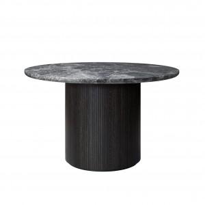 MOON table - Ø120 - Grey marble