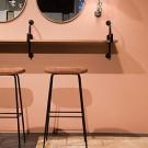 BEETLE Counter stool - Nubuk 2104