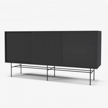 CASE black sideboard