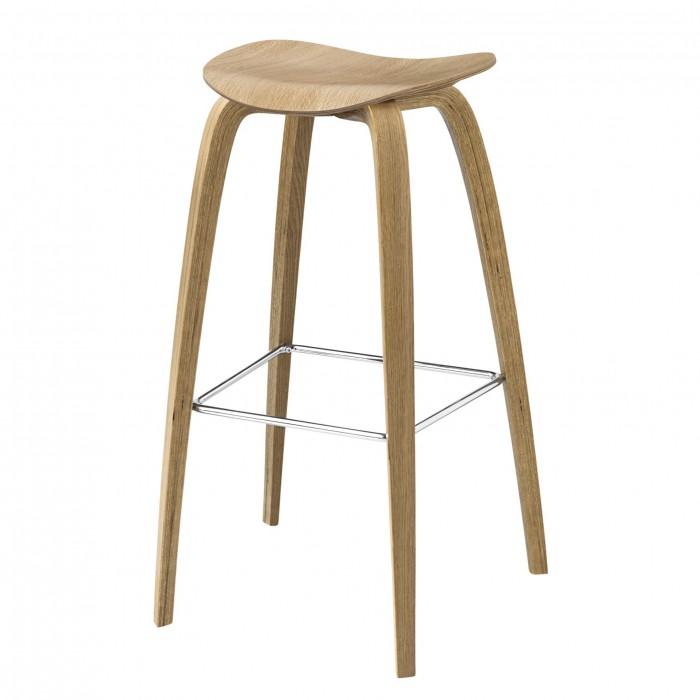 2D Bar stool - Oak