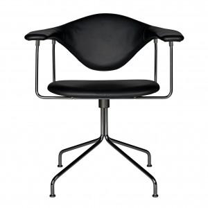 Chaise meeting MASCULO - Cuir noir