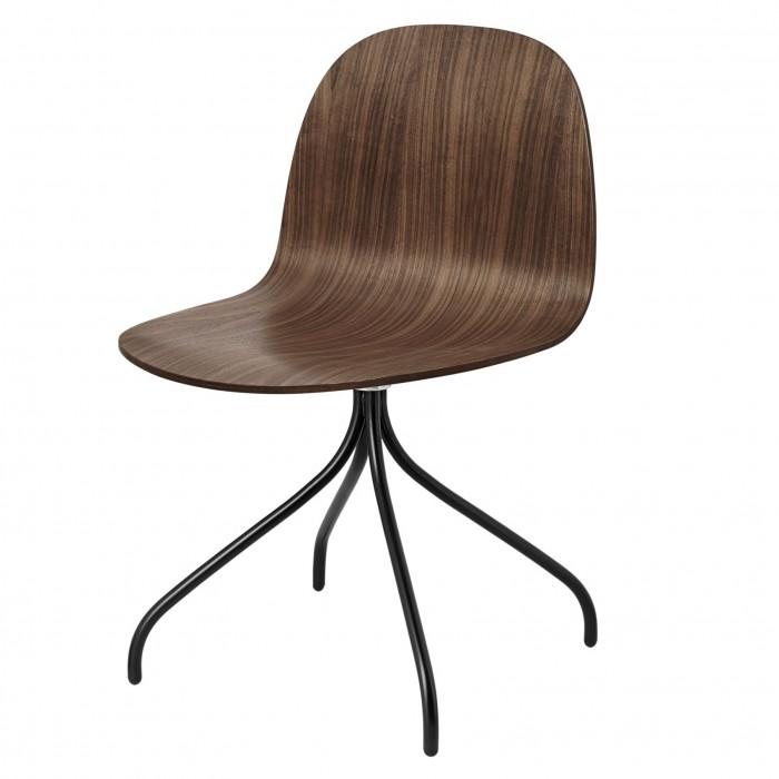 2D meeting chair - Walnut