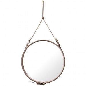 Miroir ADNET - Rond Ø58 - Dusty cedar