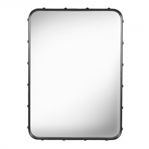 ADNET mirror - Rectangular - Black