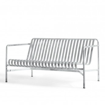 PALISSADE lounge sofa light grey