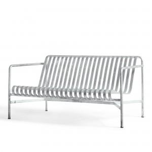 PALISSADE lounge sofa silver