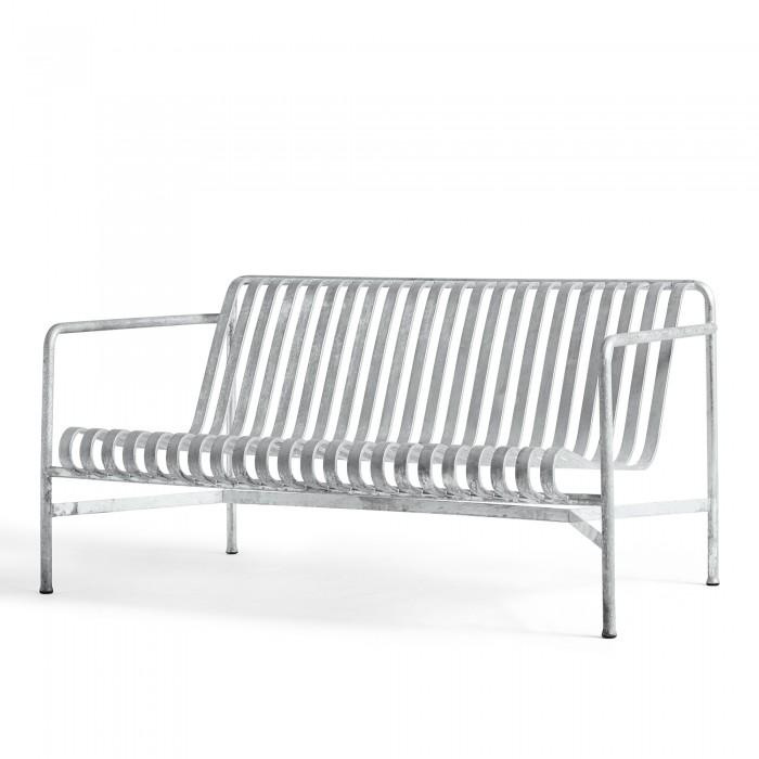 Lounge sofa PALISSADE argent