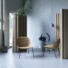 Fauteuil lounge chair FIBER - Cuir