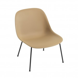 FIBER Lounge arm chair - Ochre