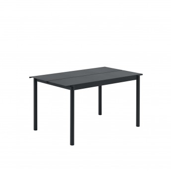 Table LINEAR - Noir