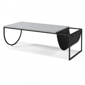 PIERO coffee table white terrazzo