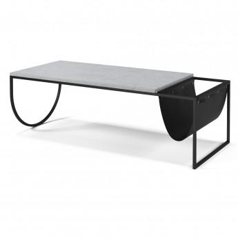 Table basse PIERO terrazzo blanc