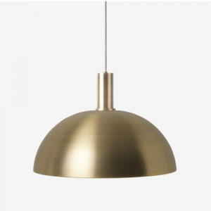 COLLECT pendant brass dome