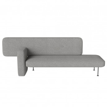 PEBBLE sofa grey